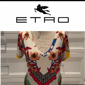Etro made in Italy printed t shirt